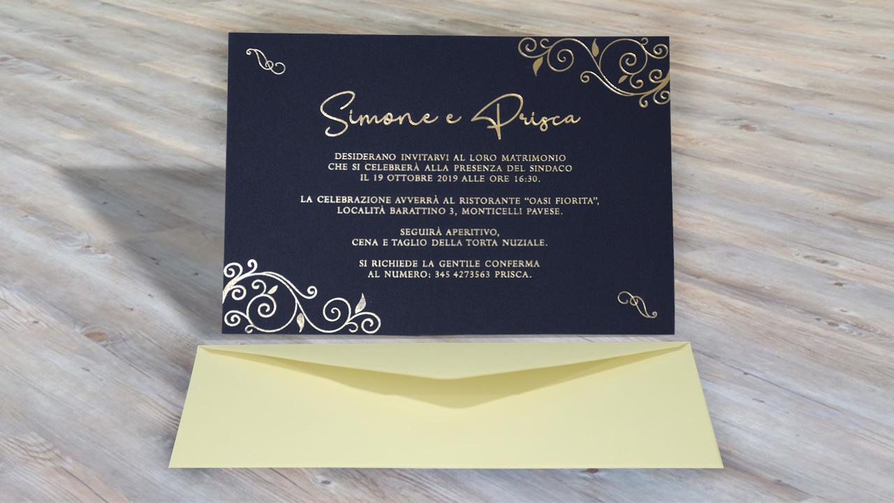 Partecipazioni Matrimonio Originali Personalizzate