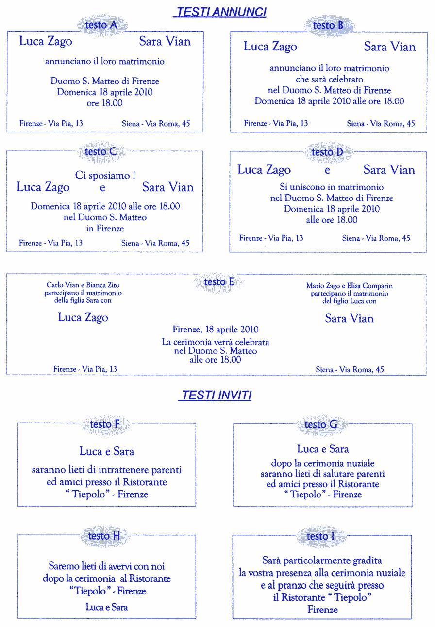 Dove ottenere Inviti di nozze stampata